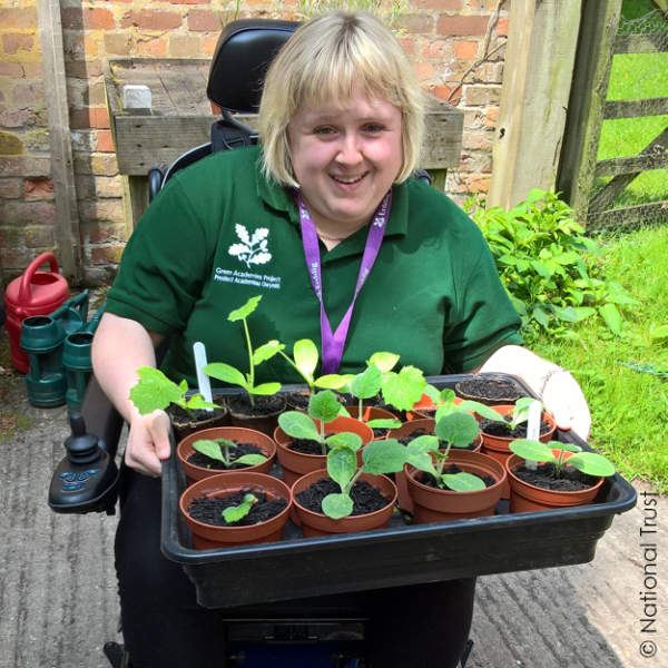 Sian at The Green Academies Project