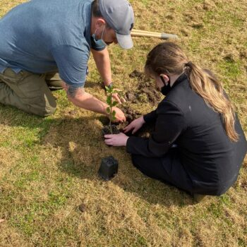 First_tree_planted_at_Northcott